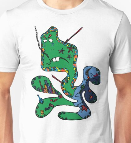 Green squid Unisex T-Shirt