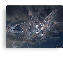 cosmic incident Canvas Print