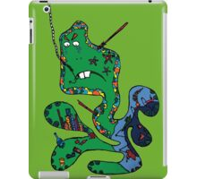 Green squid iPad Case/Skin