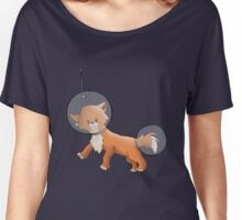 Space Fox Women's Relaxed Fit T-Shirt