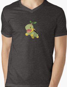 Turtwig Mens V-Neck T-Shirt