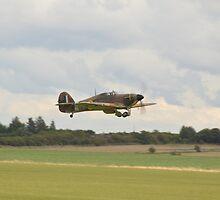 Hawker Hurricane Z5140 by Andy Jordan