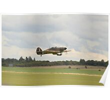 Hawker Hurricane Z5140 Poster
