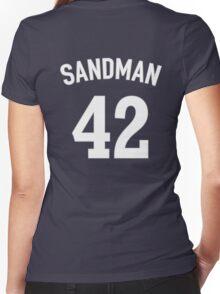 The Sandman (Mariano Rivera T-shirt) Women's Fitted V-Neck T-Shirt