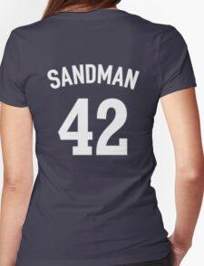 The Sandman (Mariano Rivera T-shirt) Womens Fitted T-Shirt