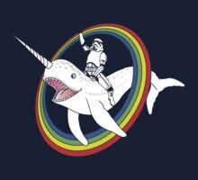 Narwhal Rainbow Stormtrooper by racooon
