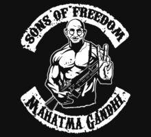 Sons Of Freedom Mahtma Gandhi by jaydizzle916