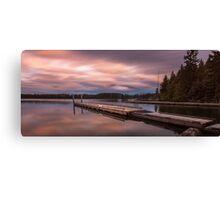 Comox Lake Vancouver Island Canvas Print