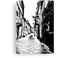 The Tiled Alleyway Canvas Print