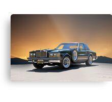 1979 Cadillac 'Opera Coupe' Metal Print