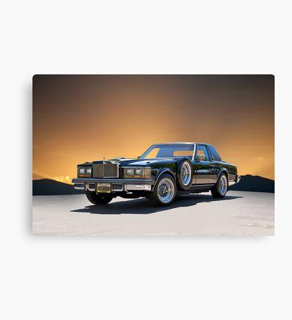 1979 Cadillac 'Opera Coupe' Canvas Print