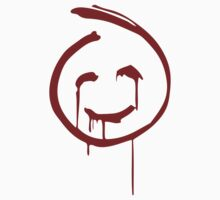 Red John Smiley Face   by Ali Vining