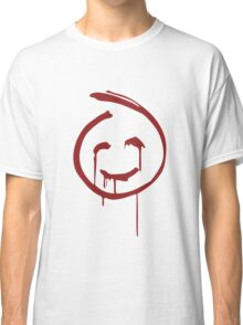 Red John Smiley Face   Classic T-Shirt
