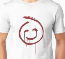 Red John Smiley Face   Unisex T-Shirt