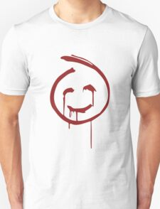 Red John Smiley Face   T-Shirt