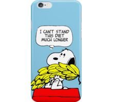 Hungry Snoopy Peanuts iPhone Case/Skin