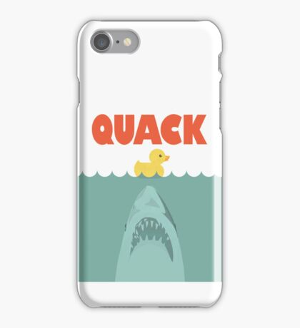 Jaws Rubber Duck 'Quack'  iPhone Case/Skin