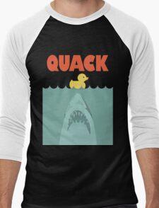 Jaws Rubber Duck 'Quack'  Men's Baseball ¾ T-Shirt