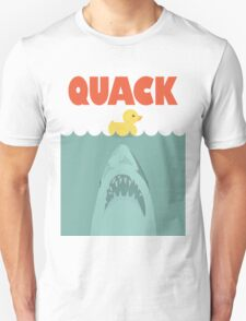 Jaws Rubber Duck 'Quack'  T-Shirt