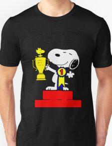 Winner Snoopy T-Shirt