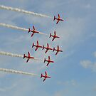 Red Arrows ( Lancaster Formation ) by mike  jordan.