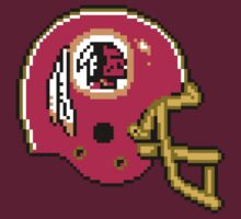 Tecmo Bowl Redskins by Conrad B. Hart