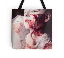 White and Blood II Tote Bag