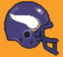 Tecmo Bowl Vikings by Conrad B. Hart