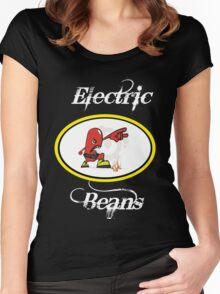 Bat Bean Women's Fitted Scoop T-Shirt