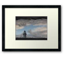 LIGHTHOUSE REFLECTION Framed Print