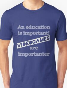 Video Games  T-Shirt