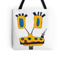 Yellow Giraffe Tote Bag