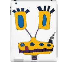 Yellow Giraffe iPad Case/Skin