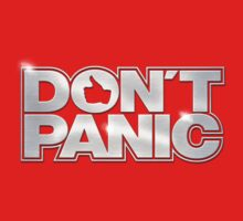 Don't Panic T-Shirt by KRDesign