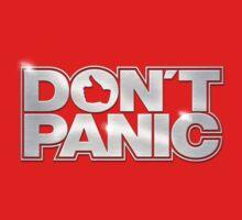 Don't Panic T-Shirt by KRDesign