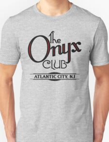 Boardwalk Empire Inspired - The Onyx Club - 1920s Atlantic City - Prohibition Era Jazz Club - Nucky Thompson Unisex T-Shirt