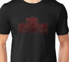 F1 Racing Car Dot  Unisex T-Shirt
