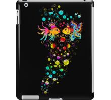 Love Fish, Bubbles, Hearts, Water, iPad Case/Skin