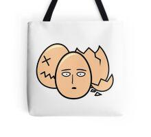 One Punch Egg, Saitama Once Punch Man Parody Tote Bag