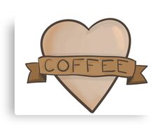Oh coffee Canvas Print