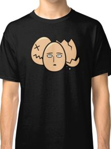 One Punch Egg, Saitama Once Punch Man Parody Classic T-Shirt