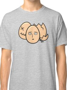 One Punch Egg, Saitama Once Punch Man Parody Classic T-Shirt