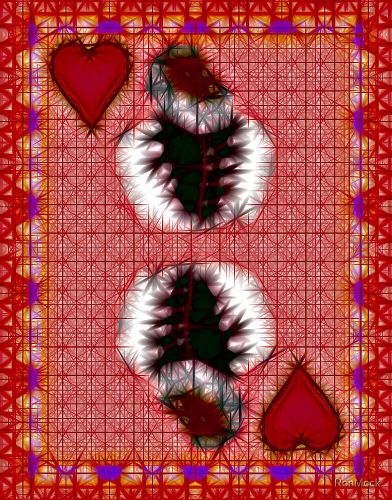 Fractil King of Hearts by RonMock