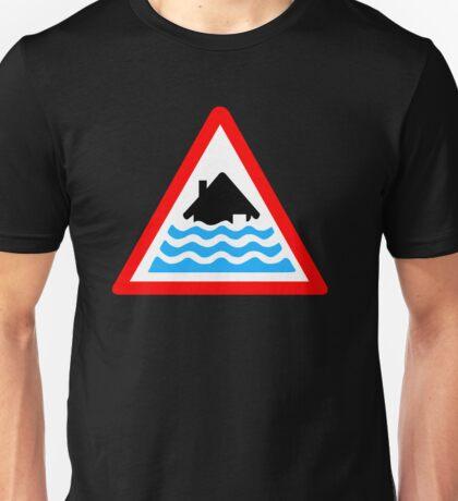 Severe Flood Warning Unisex T-Shirt