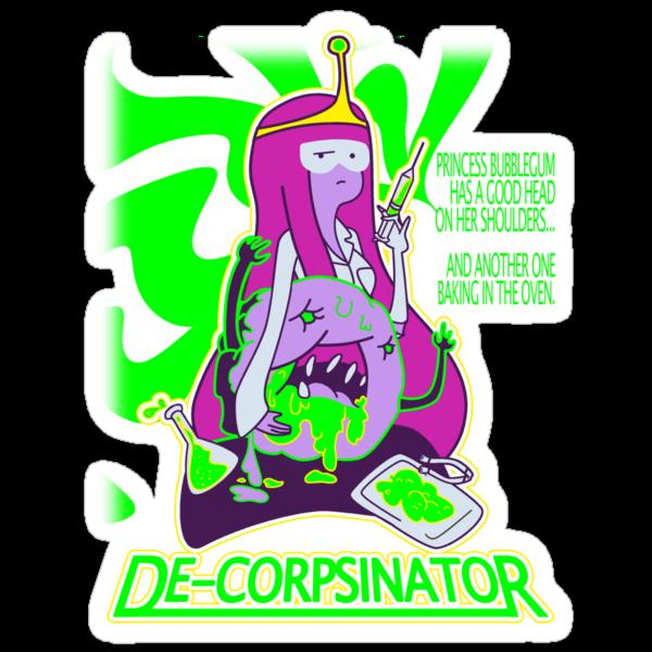 "Bubblegum ""the DeCorpsinator"" by Penelope Barbalios"