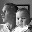 Father And Daughter by Fara
