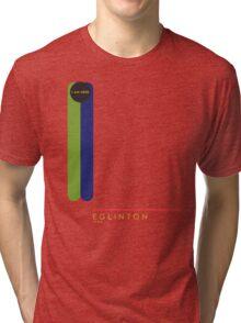 Eglinton 1966 station Tri-blend T-Shirt