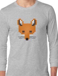 Pixel Fox Long Sleeve T-Shirt