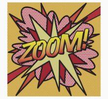 Comic Book Pop Art ZOOM! Kids Tee