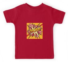 Comic Book Pop Art ZOOM! Kids Tee